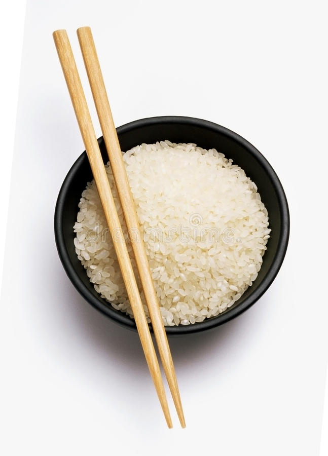 Appetite Rice For Natural Nutrition Stock Photography