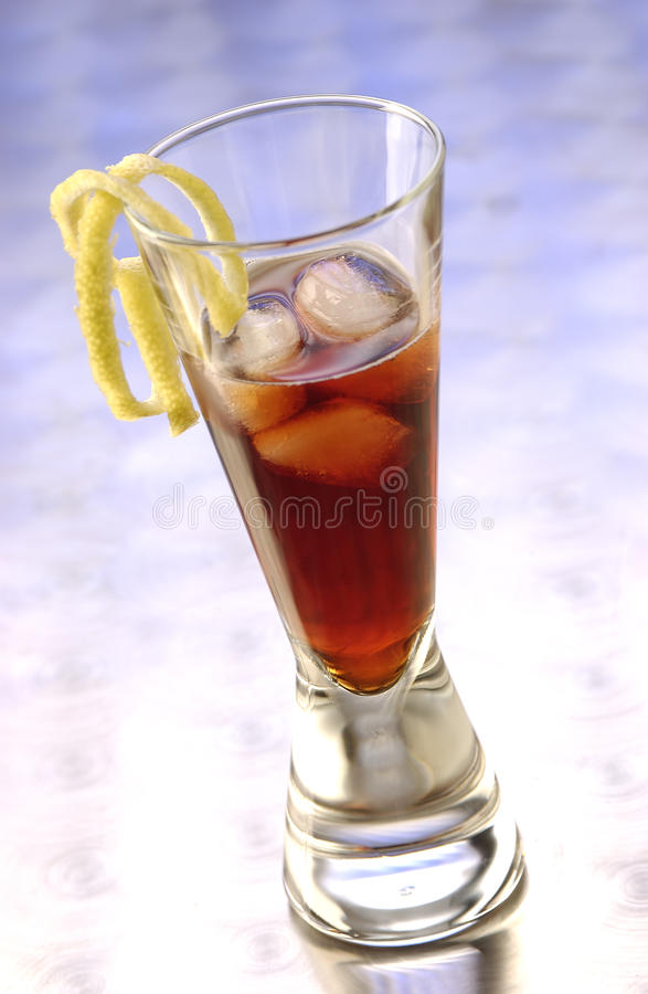Free Appetizer Bitter Negroni Royalty Free Stock Images - 15420249