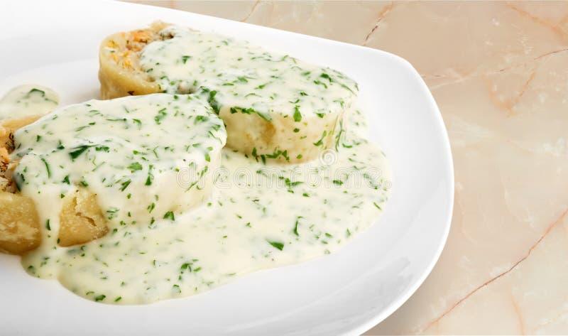 Appetizer. Bruschetta Antipasto Food Italian Culture Canape brushetta royalty free stock photography
