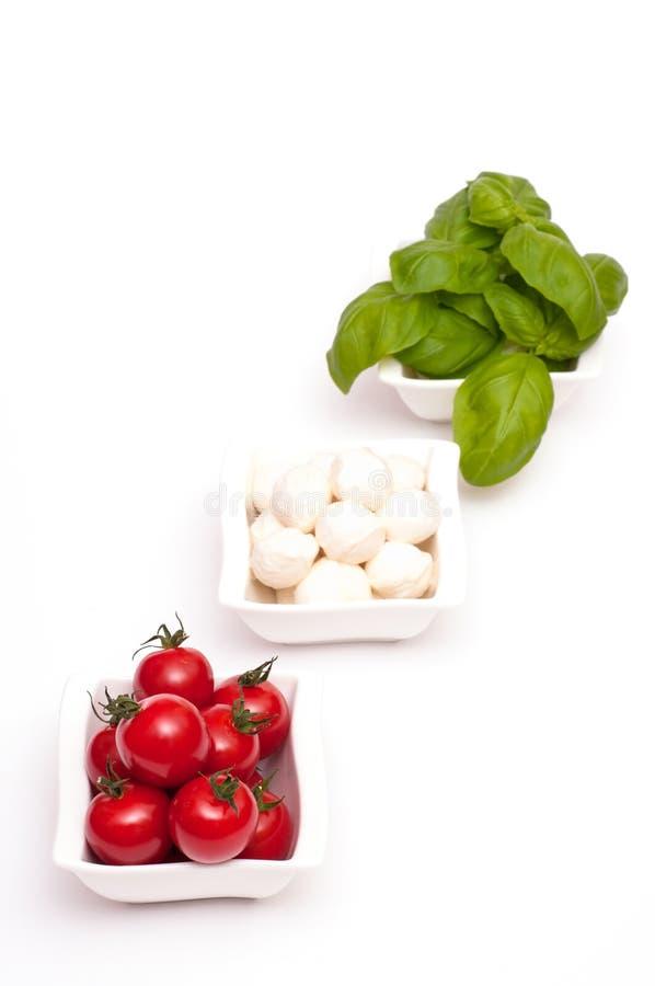 Appetizer Insalata caprese stock photo
