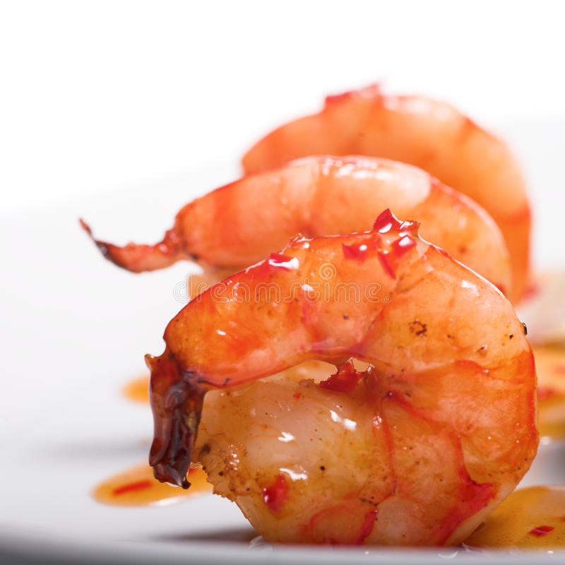 Download Appetizer with shrimps stock photo. Image of piece, delicious - 11090346