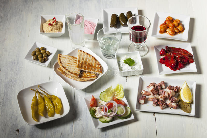 Appetizers stock image