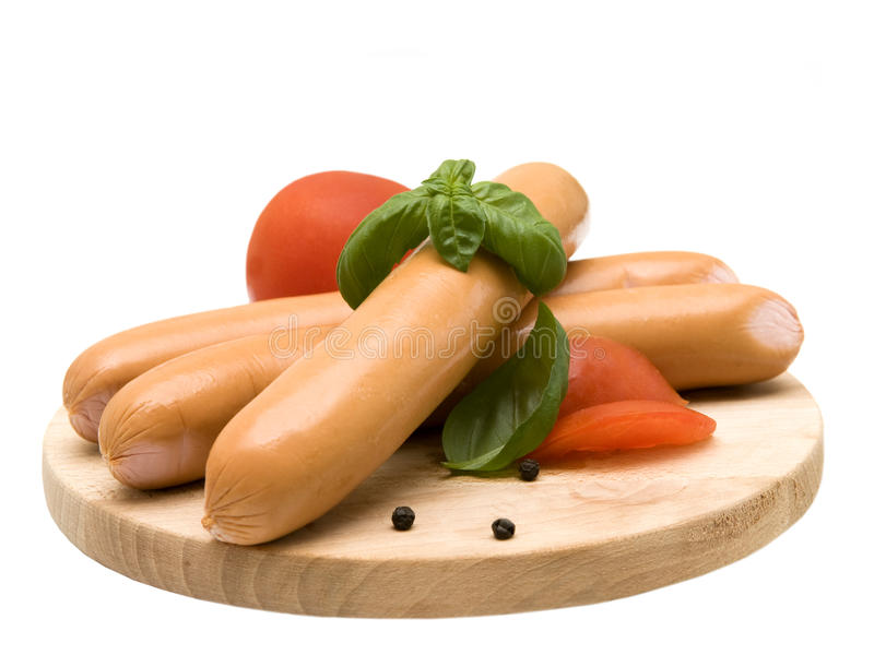 Download Appetizing Fresh Sausage Stock Photography - Image: 14765832