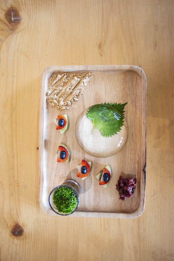 Appetizing Japanese style mochi snacks sweet delicious royalty free stock photos