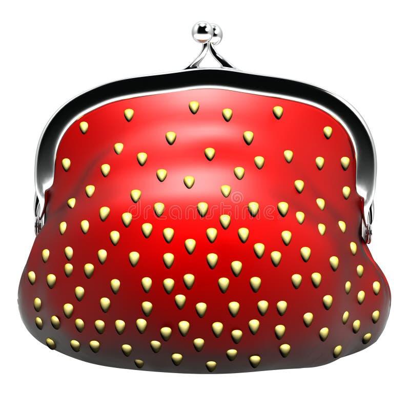 Appetizing Purse Strawberries Stock Photos