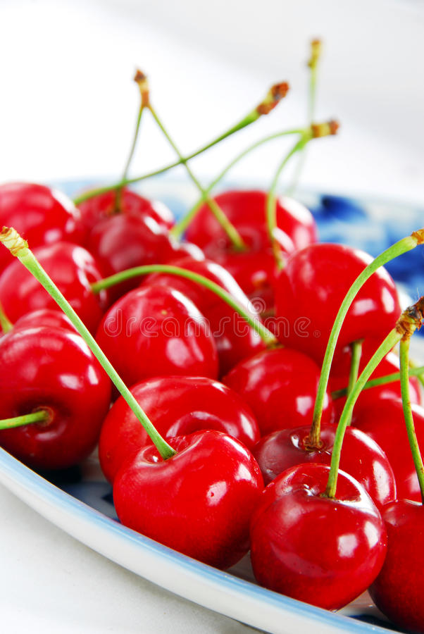Download Appetizing Red Cherries Stock Photography - Image: 20000702
