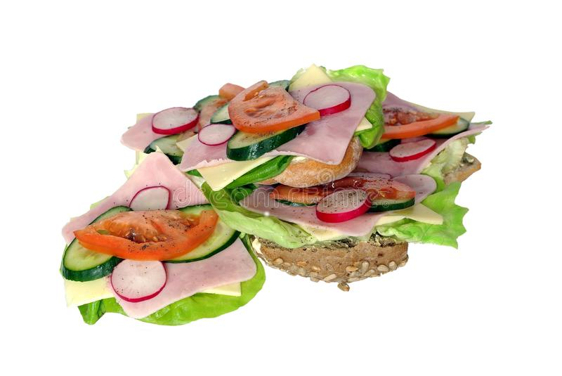 Download Appetizing sandwich stock photo. Image of bread, tasty - 18004264