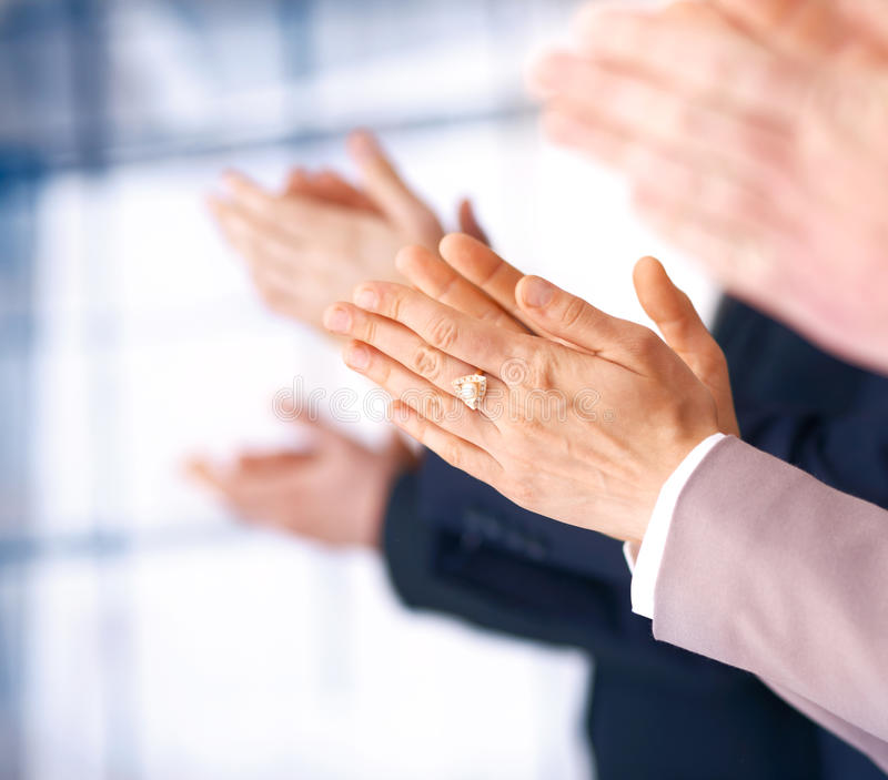 Download Applause. stock photo. Image of finger, successful, happy - 14855636