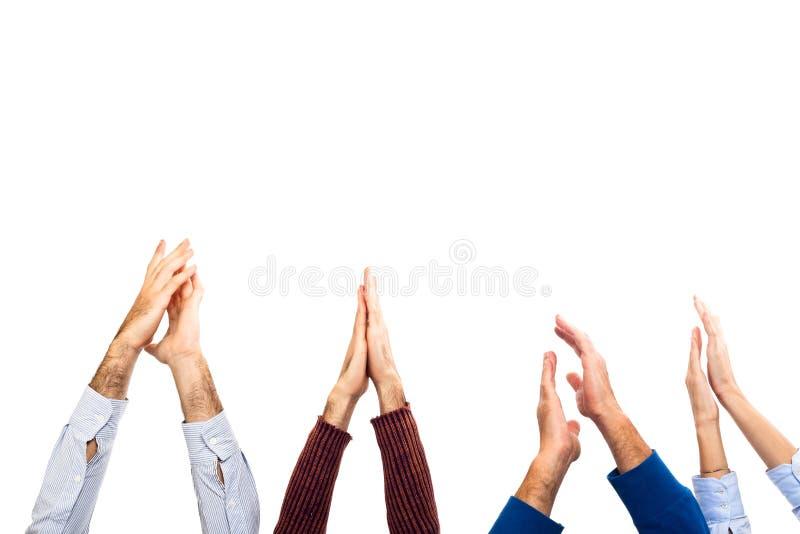 Applauso di mani immagine stock libera da diritti