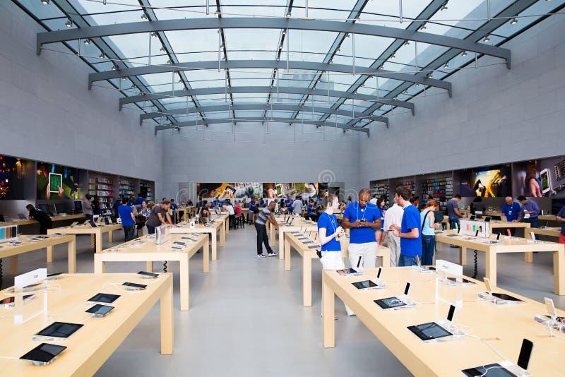 Apple存储 图库摄影