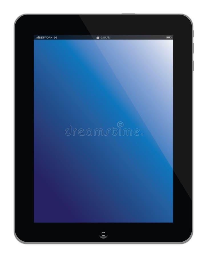 Apple计算机ipad便携式片剂 皇族释放例证