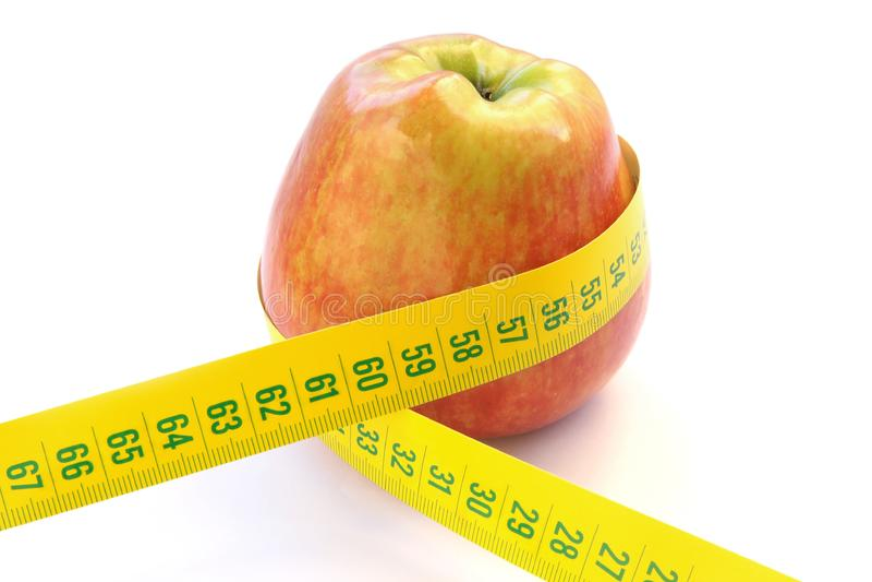 Apple饮食 库存图片