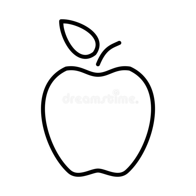 Apple översikt - msidiqf stock illustrationer