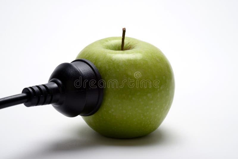Apple που τροφοδοτείται στοκ φωτογραφίες