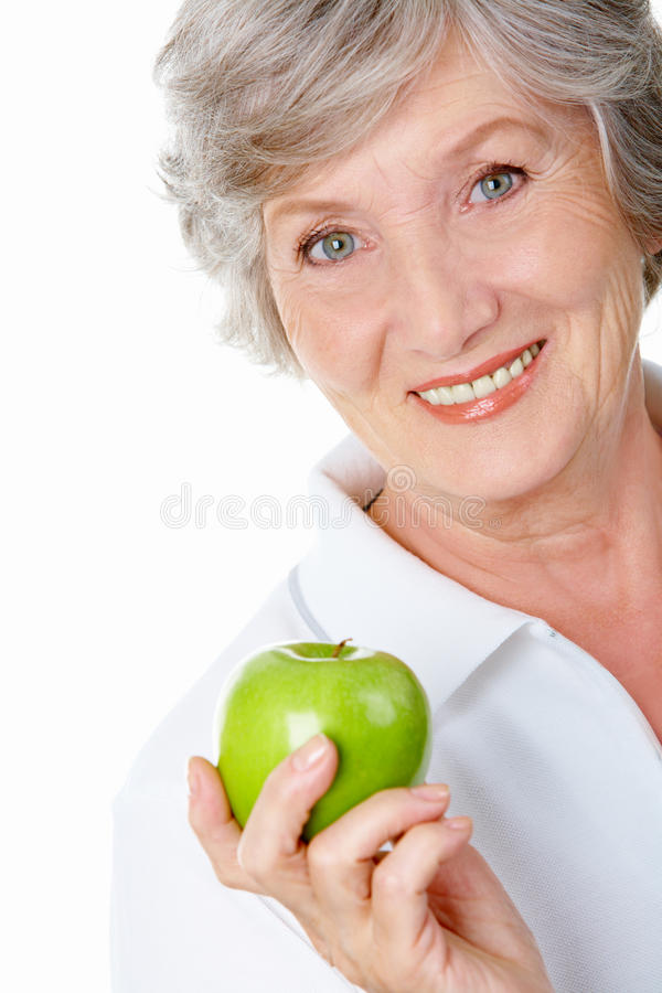 Download An apple stock image. Image of fresh, cheerful, juicy - 15302429