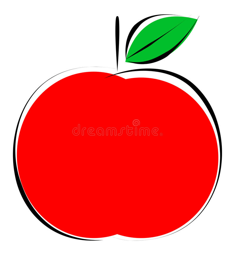 apple royalty free illustration