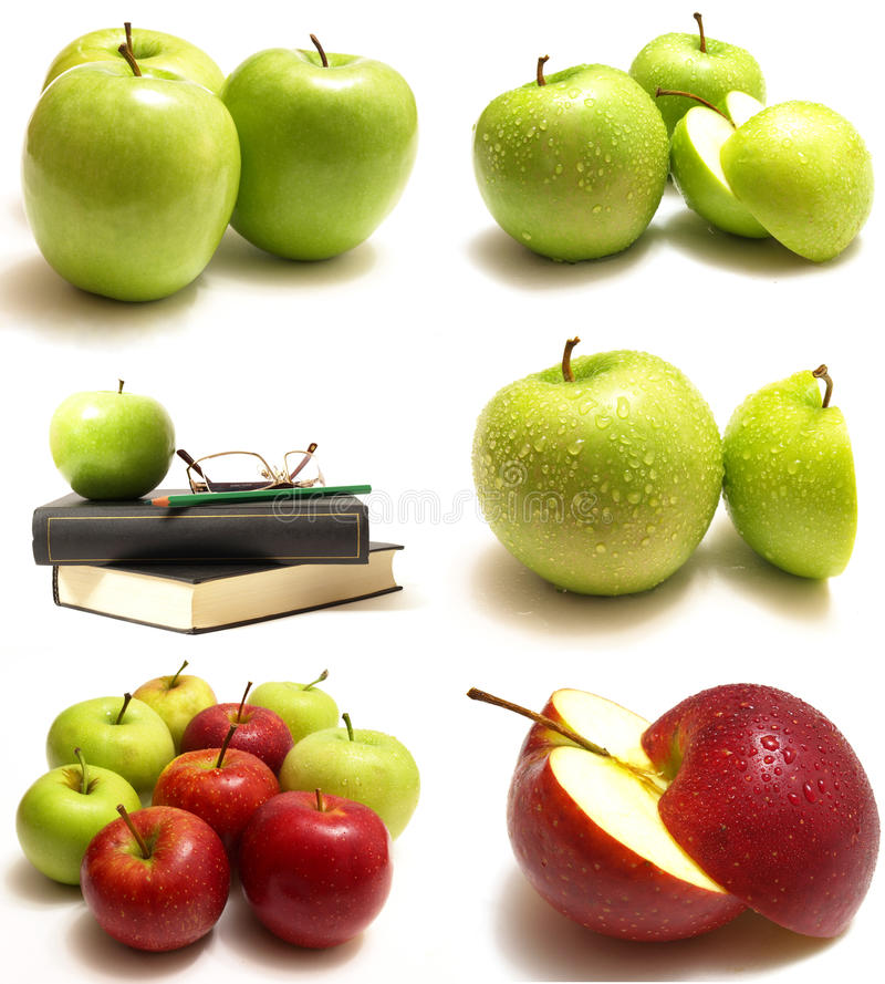 Download Apple stock photo. Image of fruit, book, healthy, nutrition - 17244190