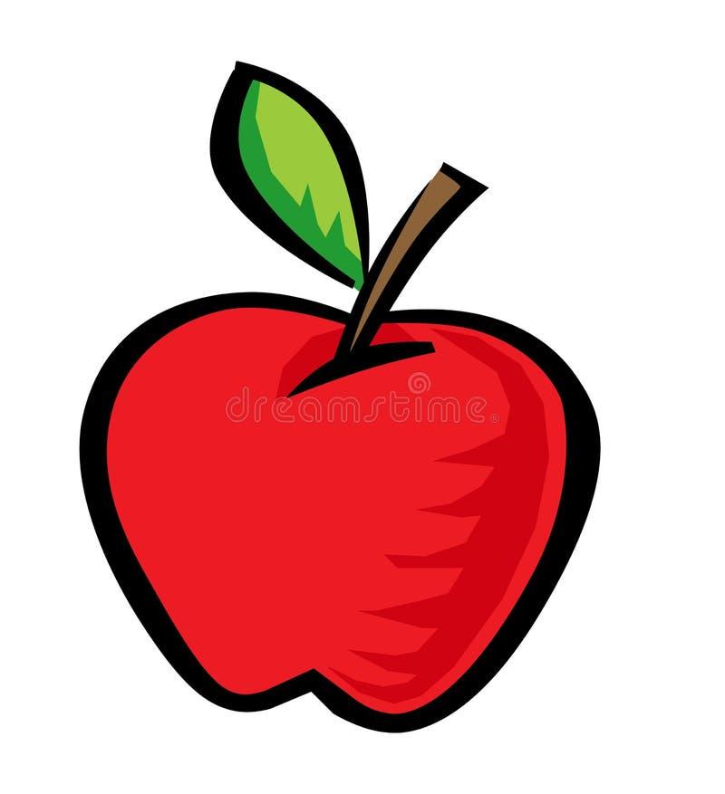 Apple ilustração royalty free