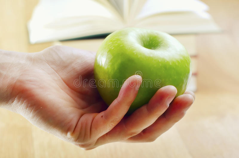Download Apple stock image. Image of learning, appeal, pencil - 23423365