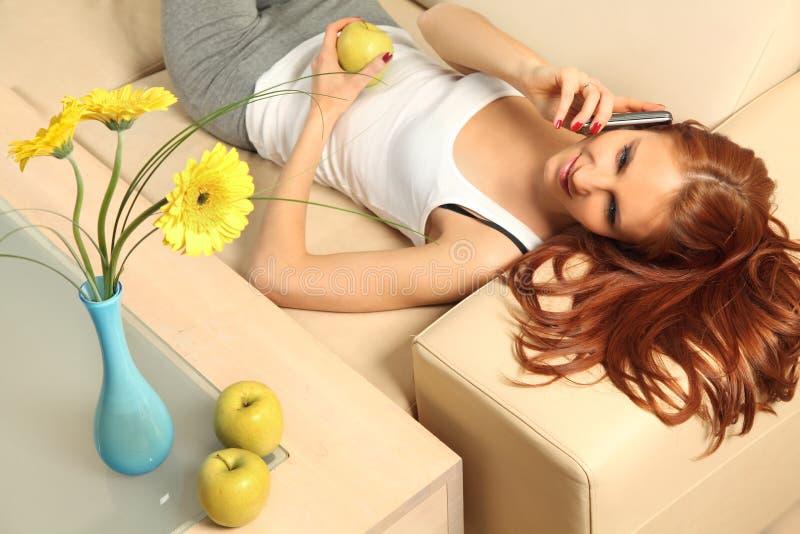 Download Apple stock photo. Image of livingroom, interior, beautiful - 24009780