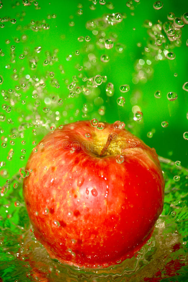 Download Apple stock photo. Image of close, color, freshness, drip - 24454954
