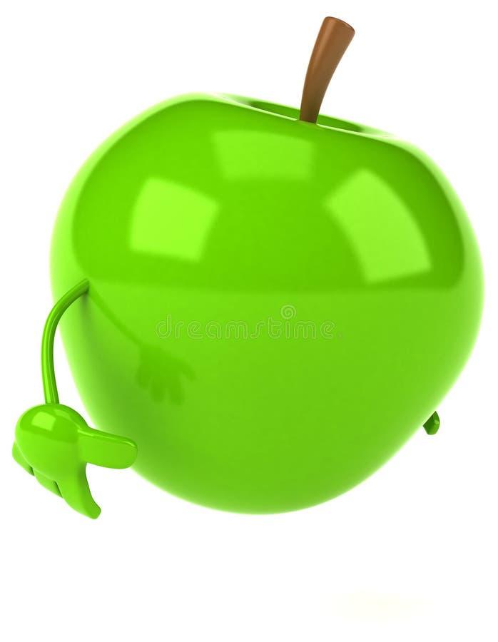 Apple royalty ilustracja