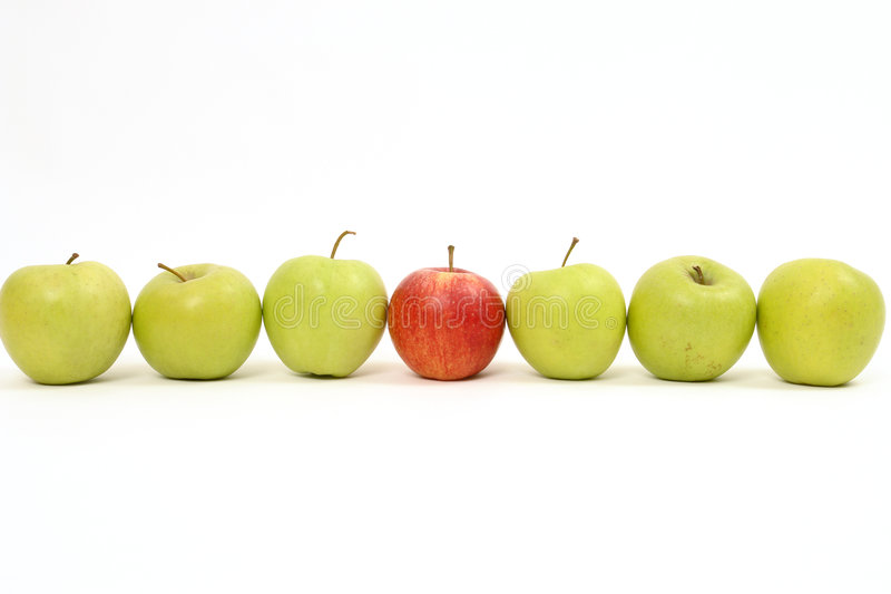 Apple photographie stock libre de droits