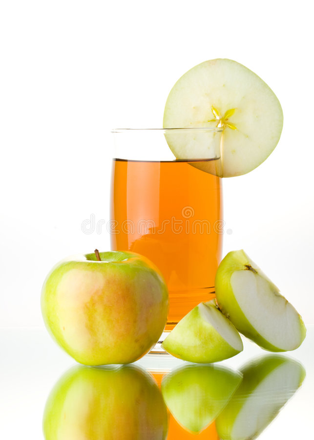 Free Apple And Juice Stock Photos - 5501763