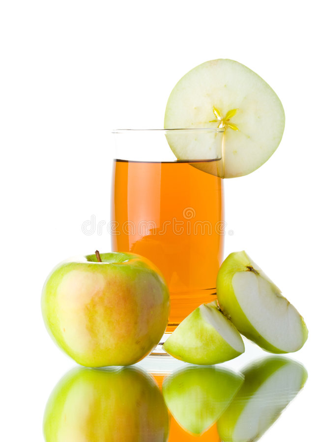 Free Apple And Juice Stock Images - 5541634