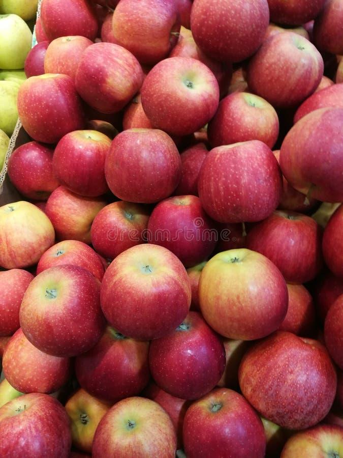 Apple au ` s d'agriculteur lancent sur le marché images libres de droits