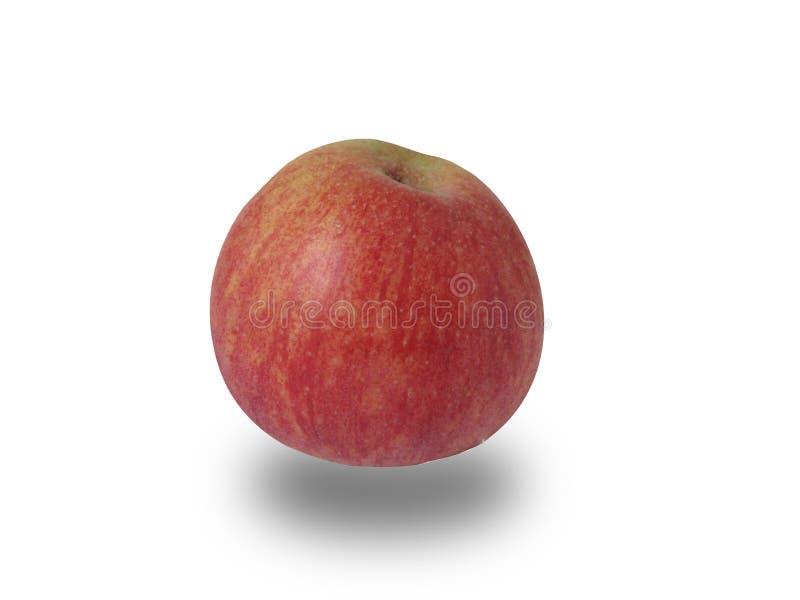 Apple auf Weiß lizenzfreie stockfotografie