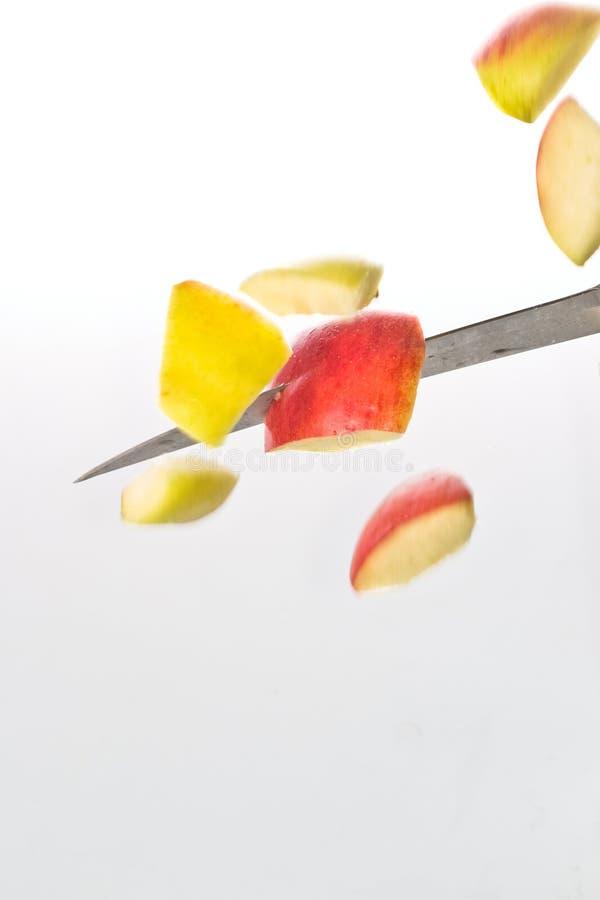 Apple-Ausschnitt stockfoto