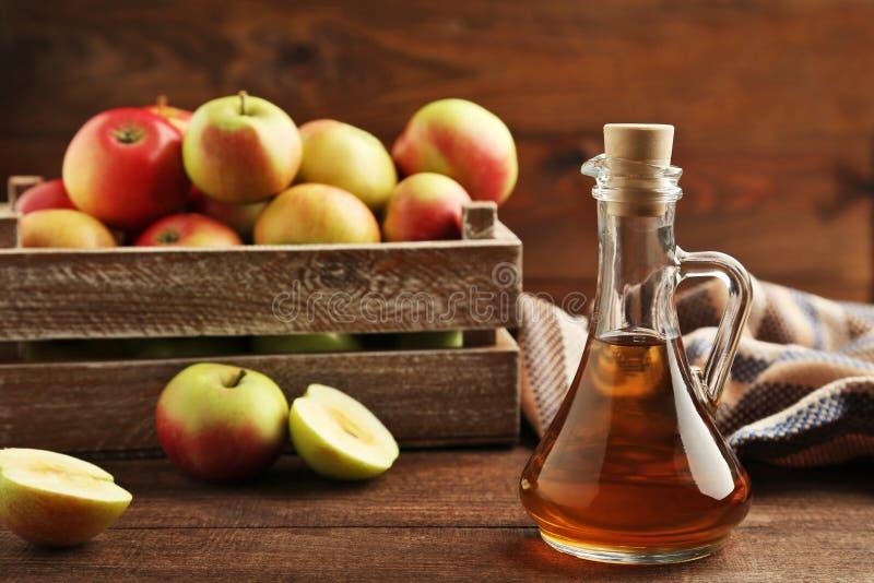 Apple-azijn stock afbeelding