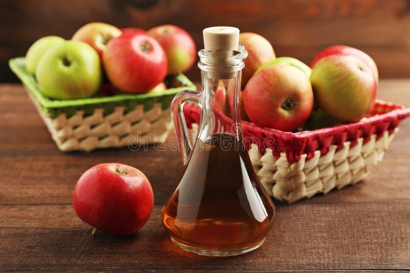 Apple-azijn royalty-vrije stock afbeelding