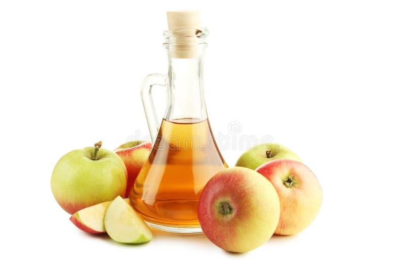 Apple-azijn royalty-vrije stock foto