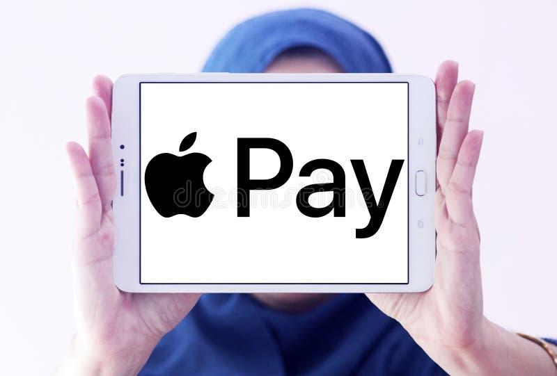 Apple betaalt embleem royalty-vrije stock afbeelding