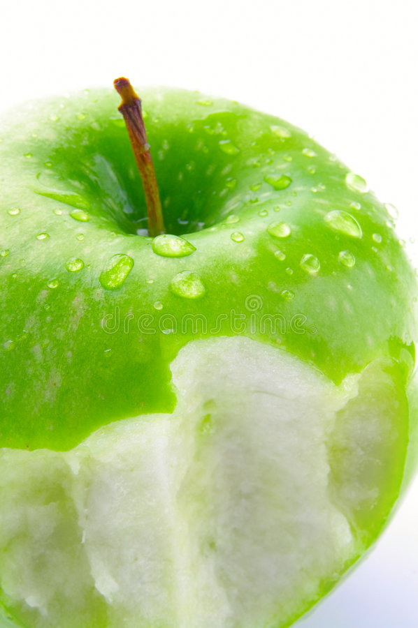 Apple bite stock images