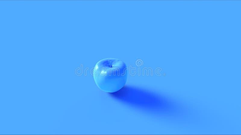 Apple blu luminoso 3 illustrazione di stock