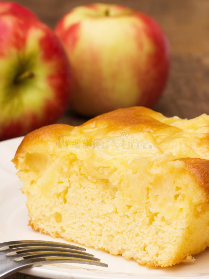 Download Apple Cake stock photo. Image of dessert, fruits, baked - 25786300