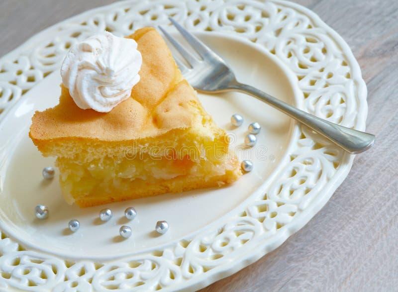 Apple-cake stock foto