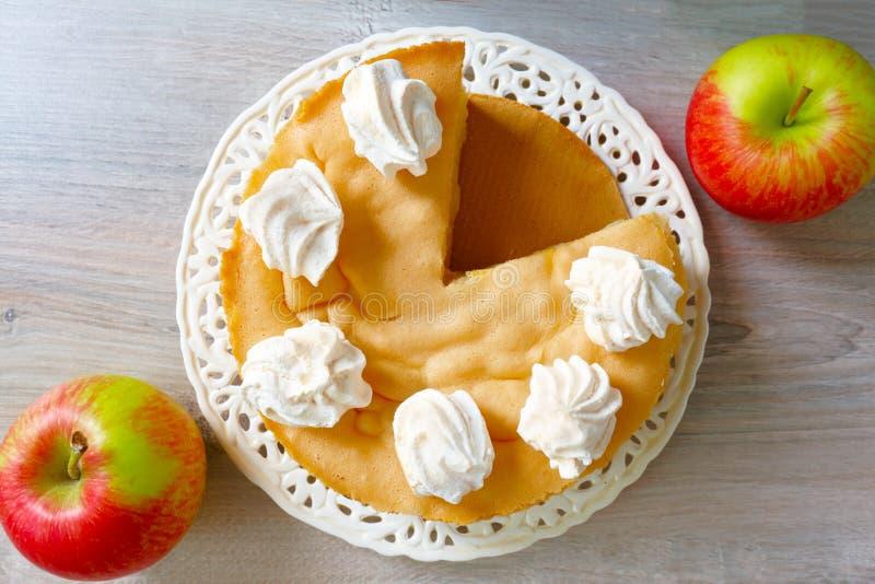 Apple-cake stock foto's