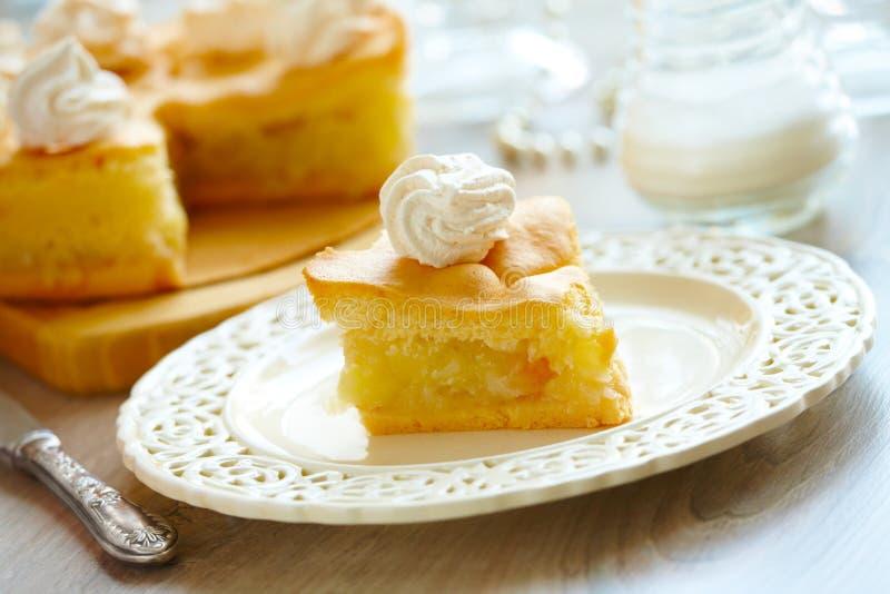 Apple-cake stock afbeeldingen