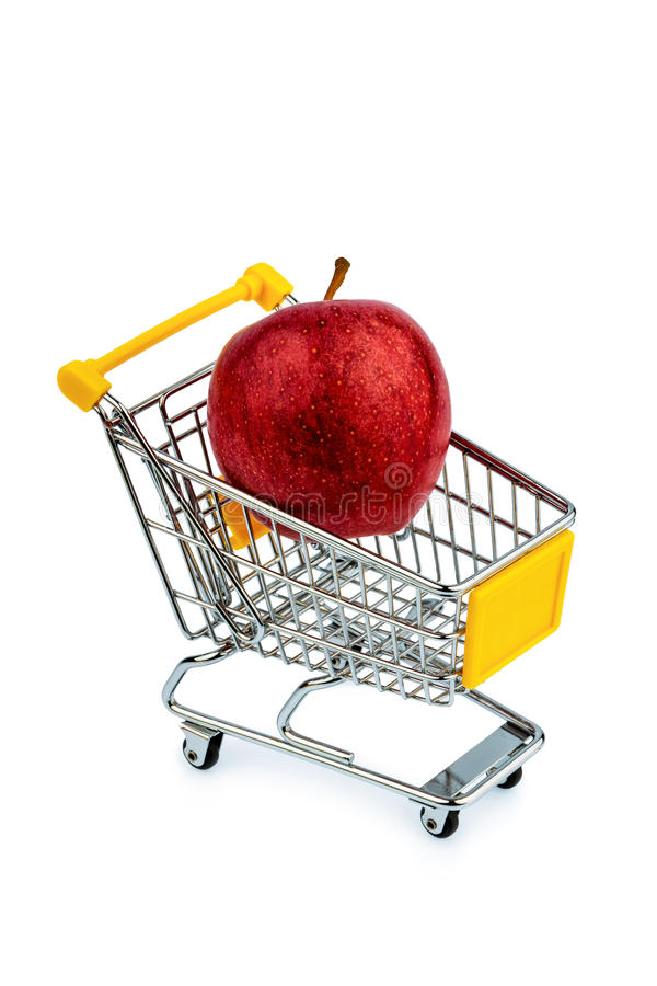 Download Apple In Cart Royalty Free Stock Photos - Image: 32927638