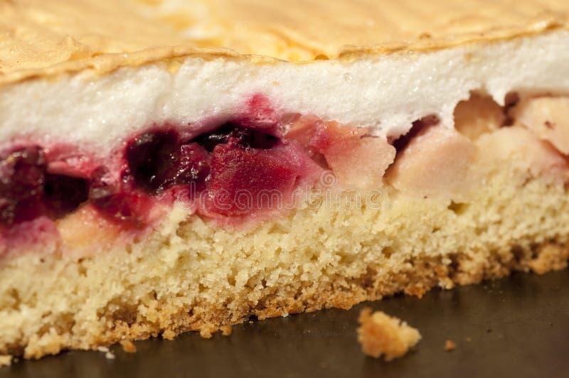 Apple-cherry pie royalty free stock photography