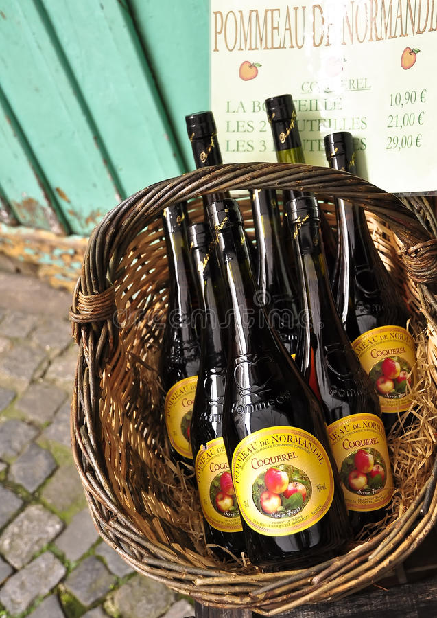 Apple cider-national Norman product. stock image