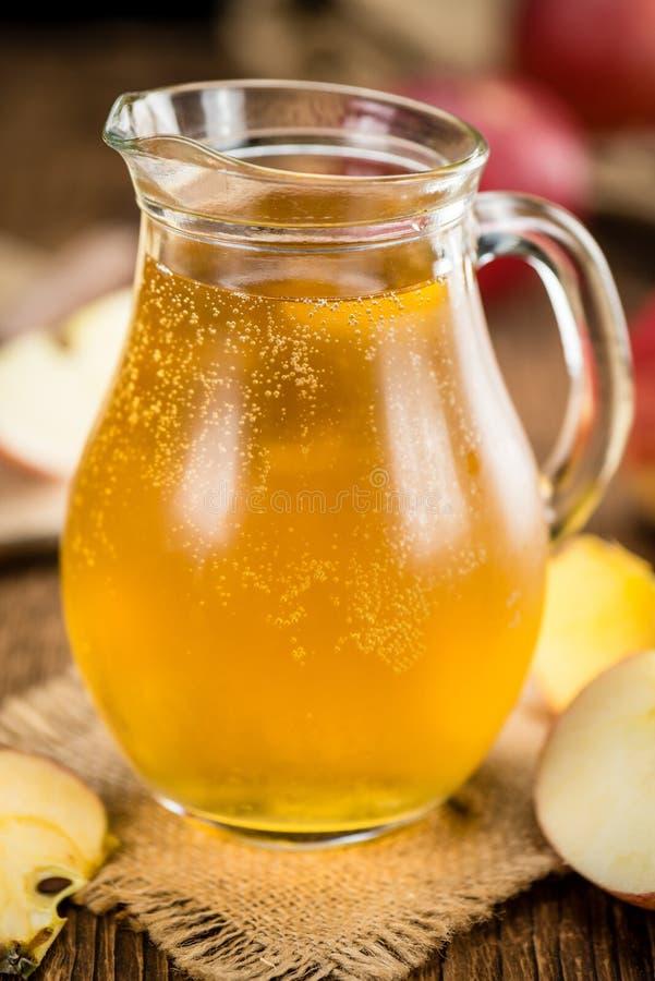 Apple-Cider selectieve nadruk, close-upschot royalty-vrije stock fotografie