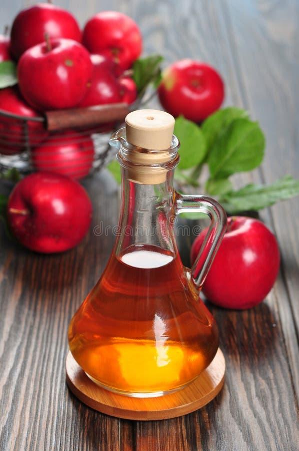 Download Apple cider vinegar stock image. Image of wooden, up - 33174339
