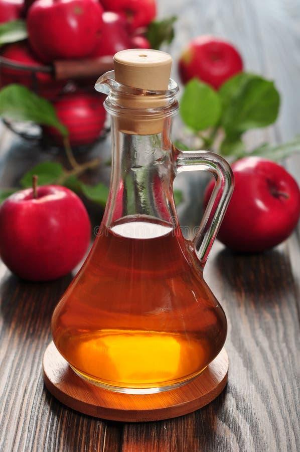 Apple cider vinegar royalty free stock photography