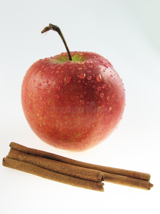 Apple  & Cinnamon Royalty Free Stock Photos