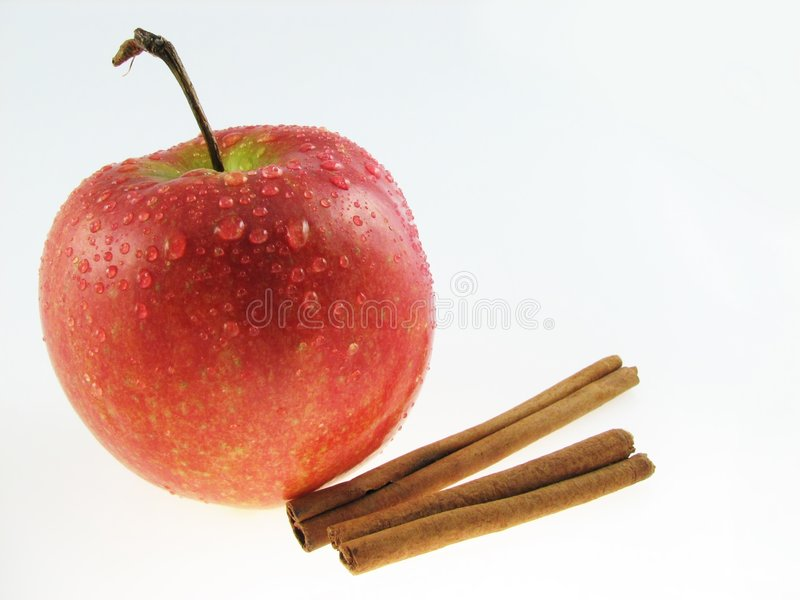 Download Apple  & Cinnamon Royalty Free Stock Photos - Image: 1642828